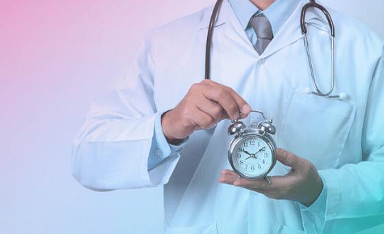 gestão de tempo para médicos