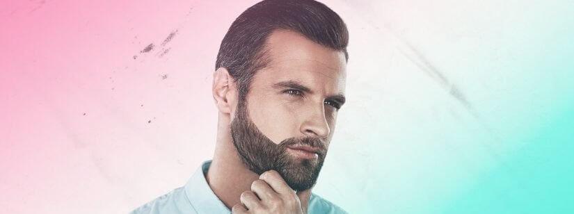 volume da barba